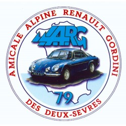 Autocollant Logo AARG79